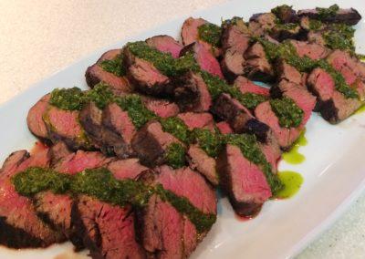 Italian Beefsteak with Salsa Verde
