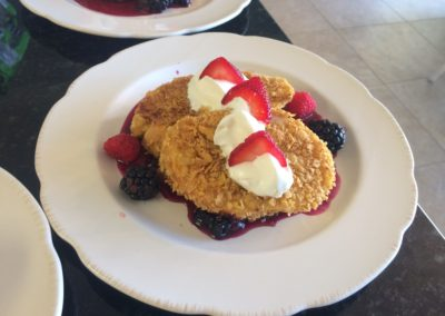 Jekyll's Stuffed French Toast