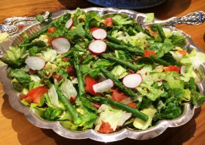 Romaine Asparagus Salad